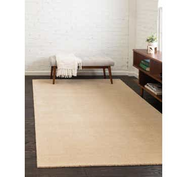 Image of 4' x 6' Solid Gabbeh Rug