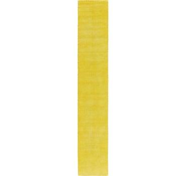 2' 7 x 16' 5 Solid Gabbeh Runner Rug main image
