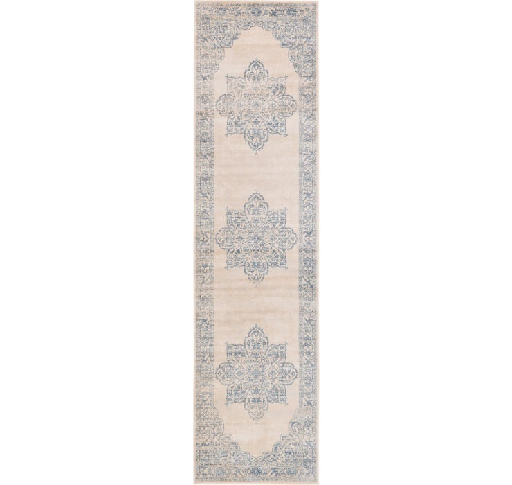 Image of 80cm x 305cm Restoration Runner Rug