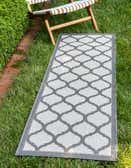 2' 2 x 6' Outdoor Trellis Runner Rug thumbnail