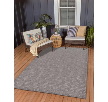 5' 3 x 8' Outdoor Modern Rug main image