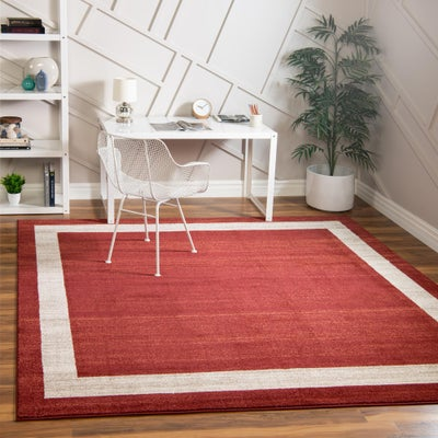 7 FT Square Rugs