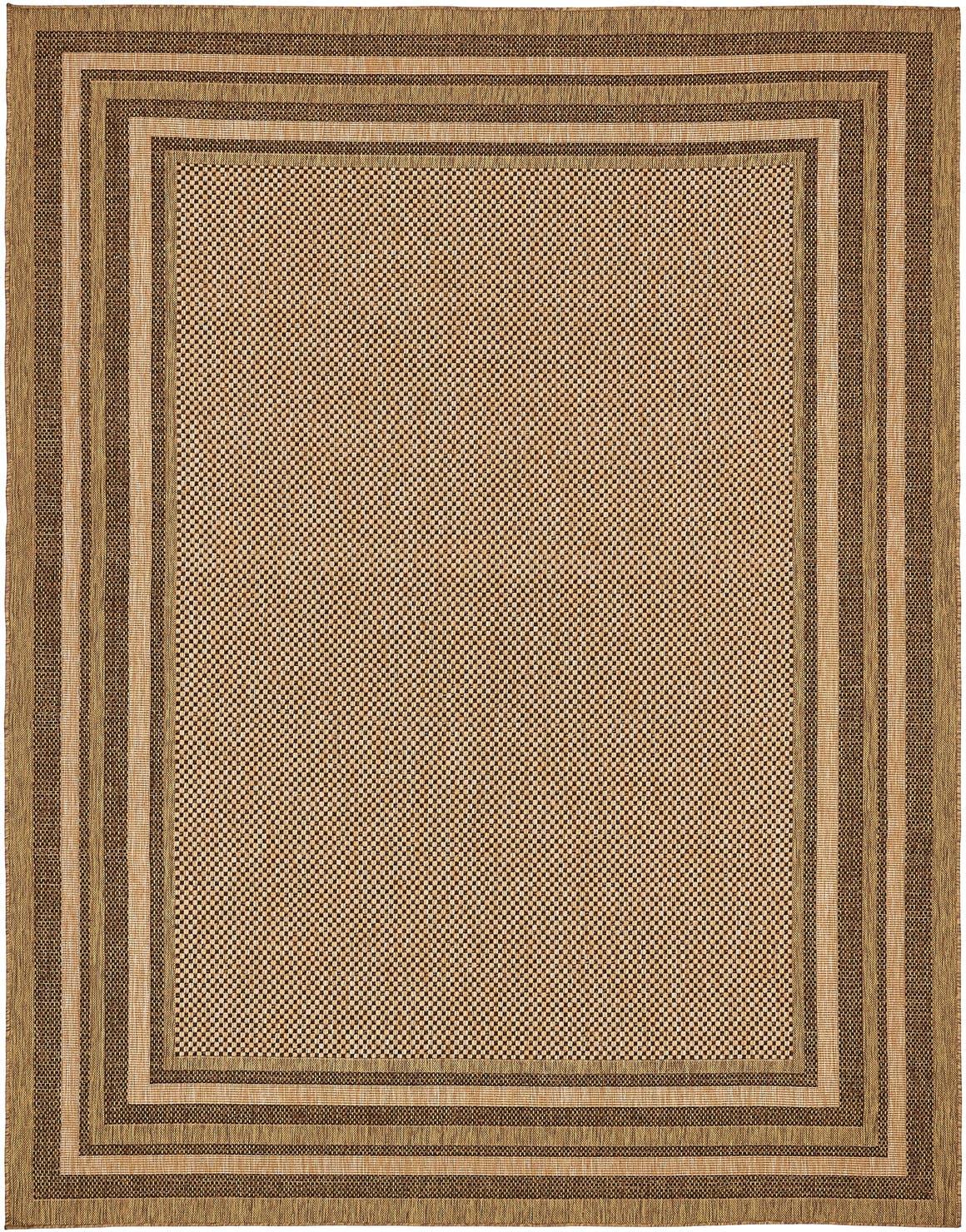 9' x 12' Outdoor Border Rug main image