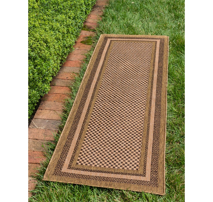 65cm x 183cm Outdoor Border Runner Rug