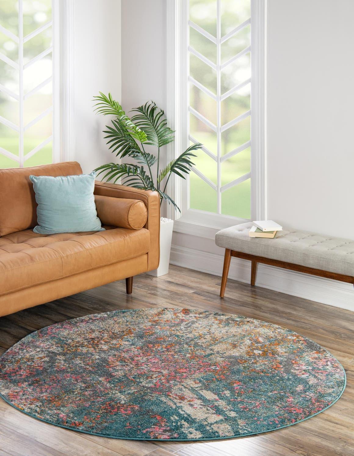 6' x 6' Aria Round Rug main image