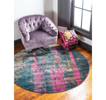 Image of  Multi Delilah Round Rug