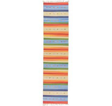 2' x 7' 10 Kilim Dhurrie Runner Rug