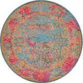183cm x 183cm Palazzo Round Rug thumbnail