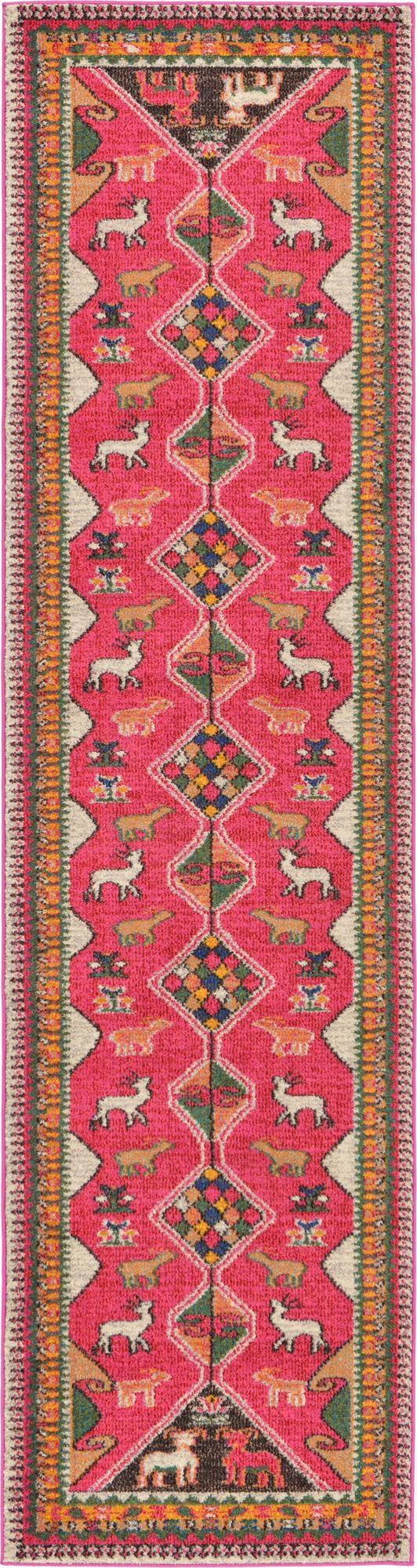 2' 7 x 10' Santa Fe Runner Rug main image