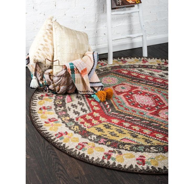100cm x 100cm Santa Fe Round Rug