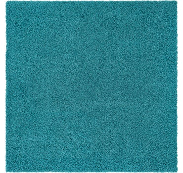 8' 2 x 8' 2 Solid Shag Square Rug main image
