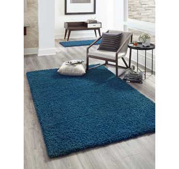 Image of Sapphire Blue Classic Rug