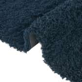 3' 3 x 3' 3 Solid Shag Round Rug thumbnail