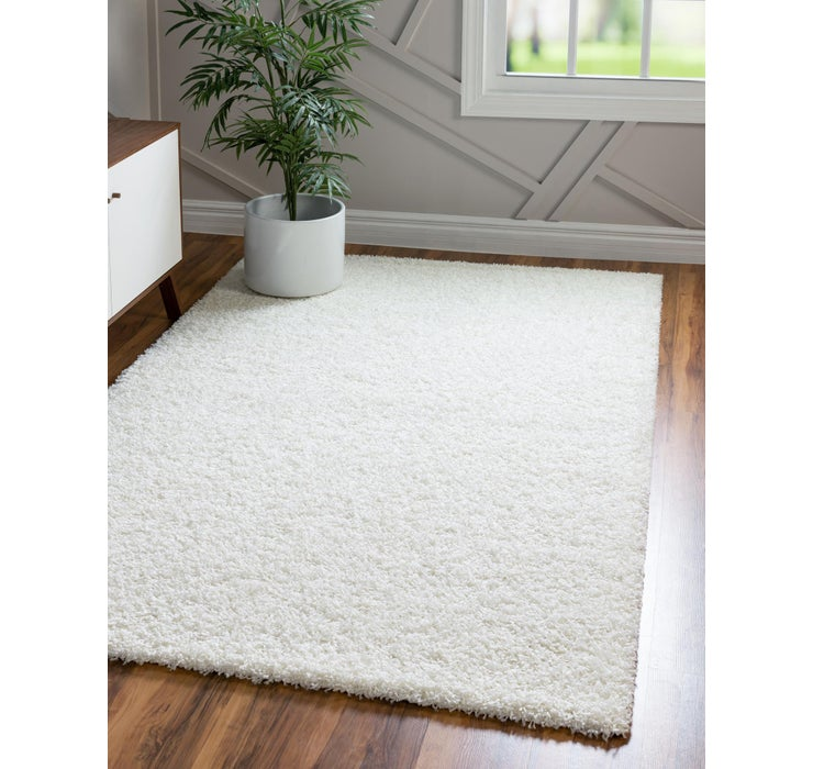 Image of 9' x 12' Solid Shag Rug