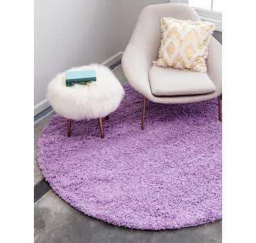 Image of Lilac Classic Round Rug