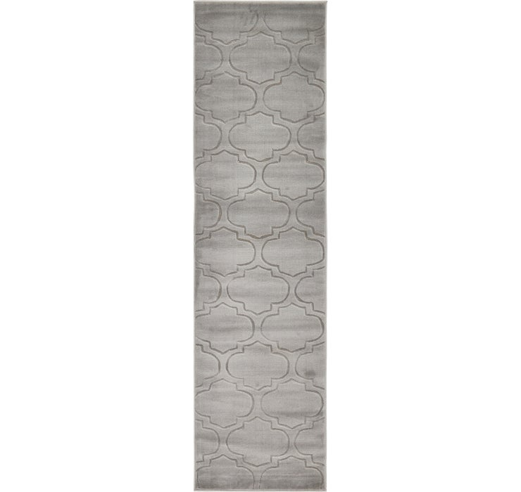 80cm x 305cm Carved Trellis Runner Rug