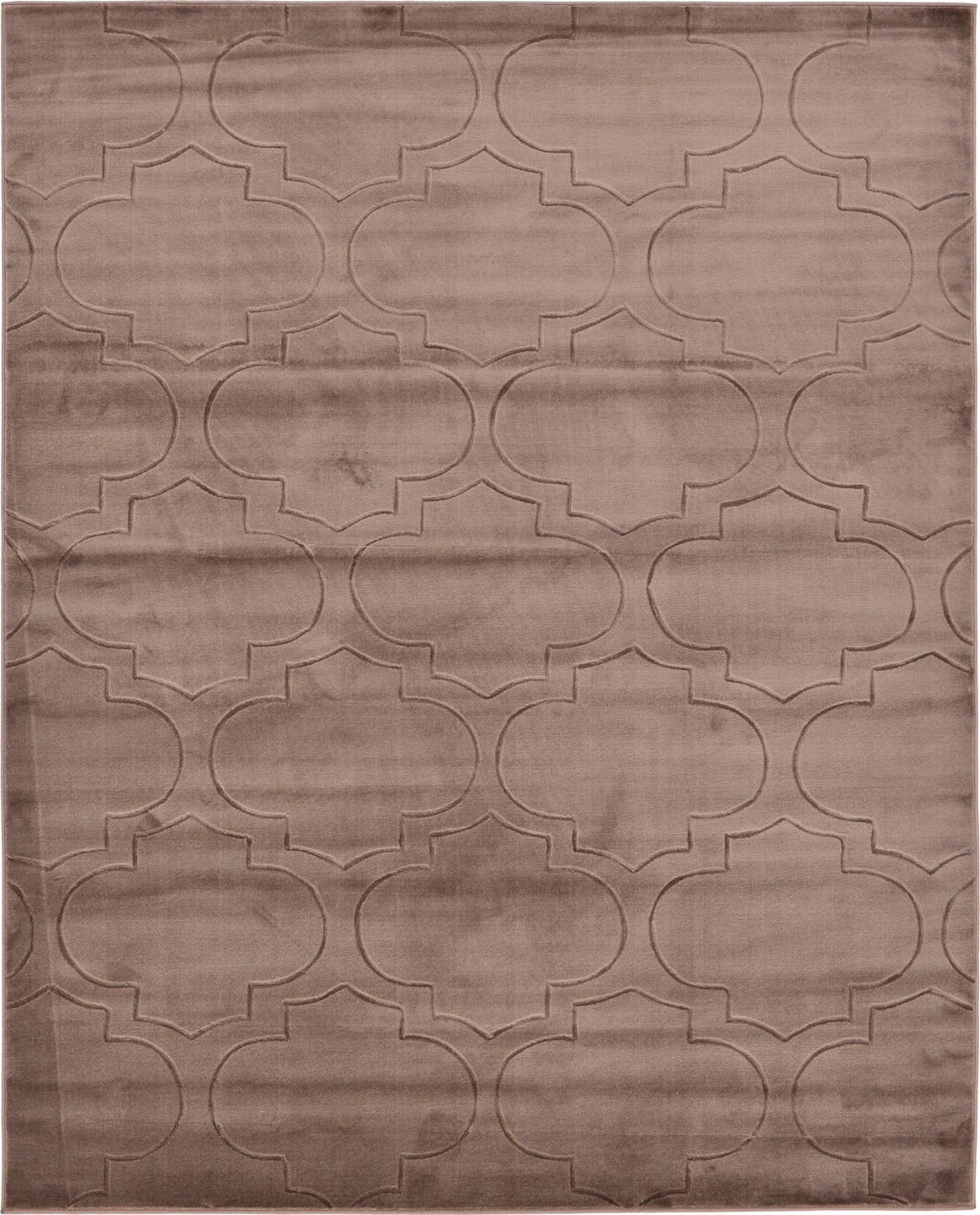 8' x 10' Carved Trellis Rug main image