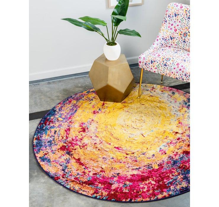183cm x 183cm Casablanca Round Rug