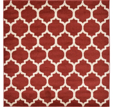 6' x 6' Trellis Square Rug main image