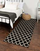 2' 7 x 8' Lattice Runner Rug thumbnail