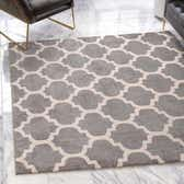6' x 6' Lattice Square Rug thumbnail