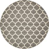 10' x 10' Lattice Round Rug thumbnail