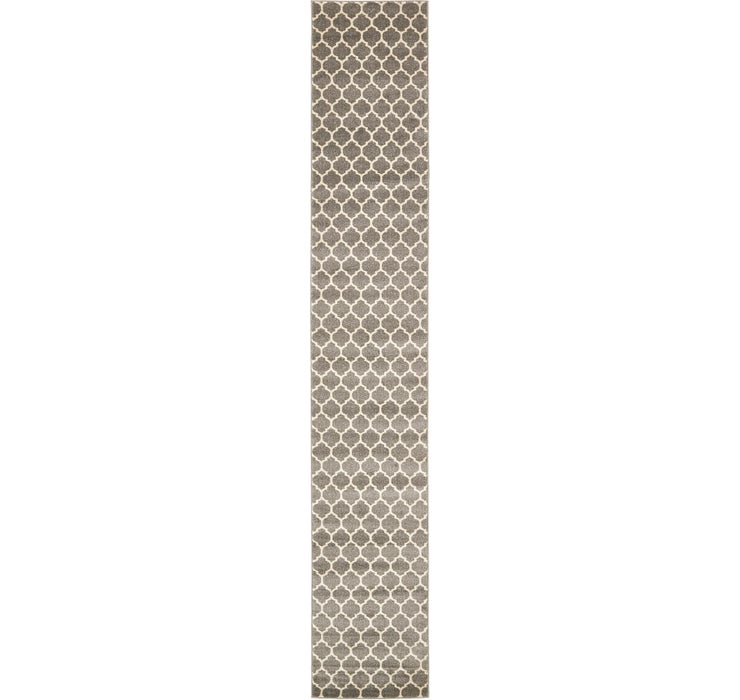 2' 7 x 16' 5 Lattice Runner Rug