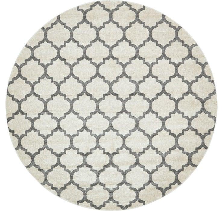 10' x 10' Lattice Round Rug