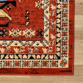 2' 7 x 10' Heriz Design Runner Rug thumbnail