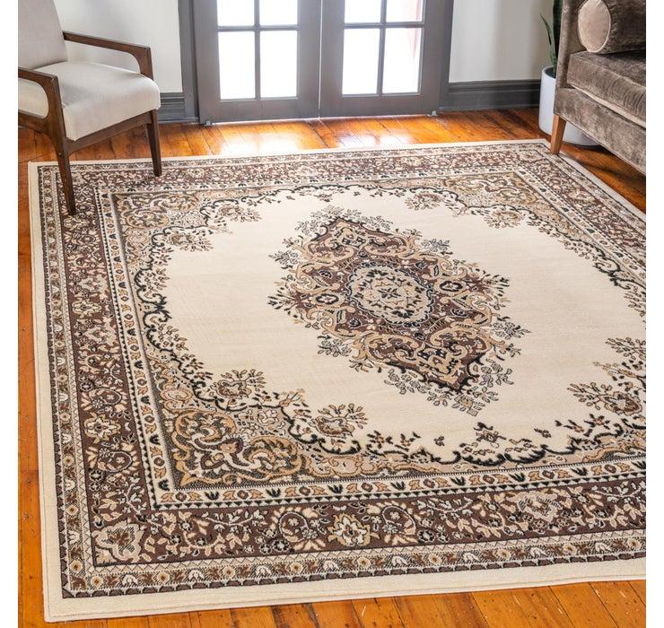 Image of 245cm x 245cm Mashad Design Square Rug