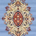 Link to Light Blue of this rug: SKU#3128748