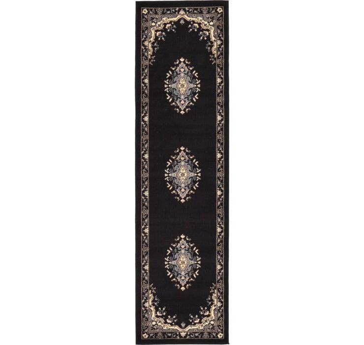 2' 2 x 8' 2 Mashad Design Runner Rug