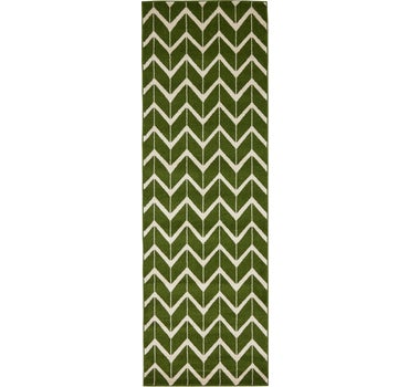 2' 7 x 8' Chevron Runner Rug main image
