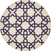 8' x 8' Trellis Round Rug thumbnail