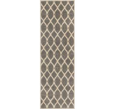 Image of  2' 7 x 8' Lattice Runner Rug