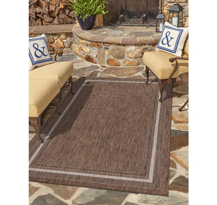 122cm x 183cm Outdoor Border Rug
