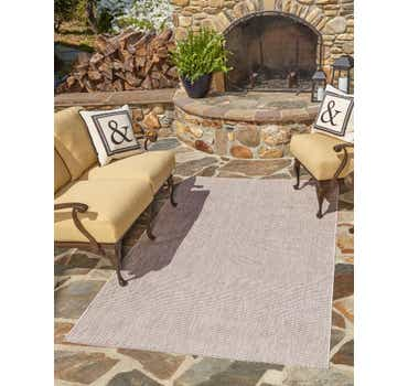 Image of 9' x 12' Outdoor Solid Rug