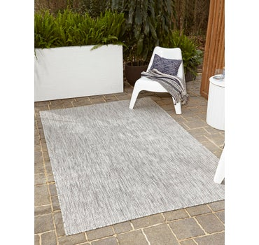 4' x 6' Outdoor Solid Rug main image