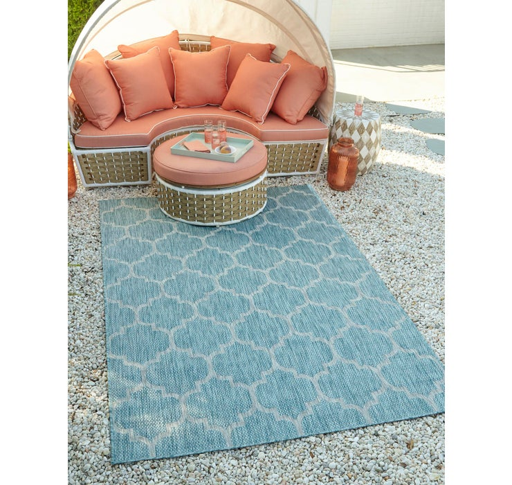 Image of 245cm x 345cm Outdoor Trellis Rug