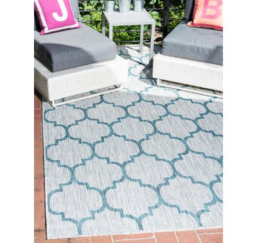 4' x 6' Outdoor Trellis Rug main image