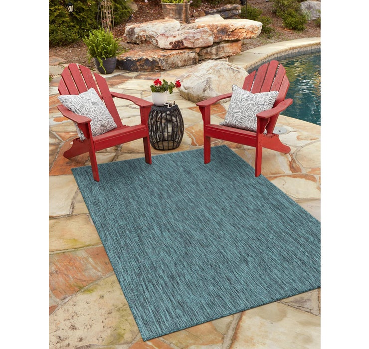 275cm x 365cm Outdoor Solid Rug