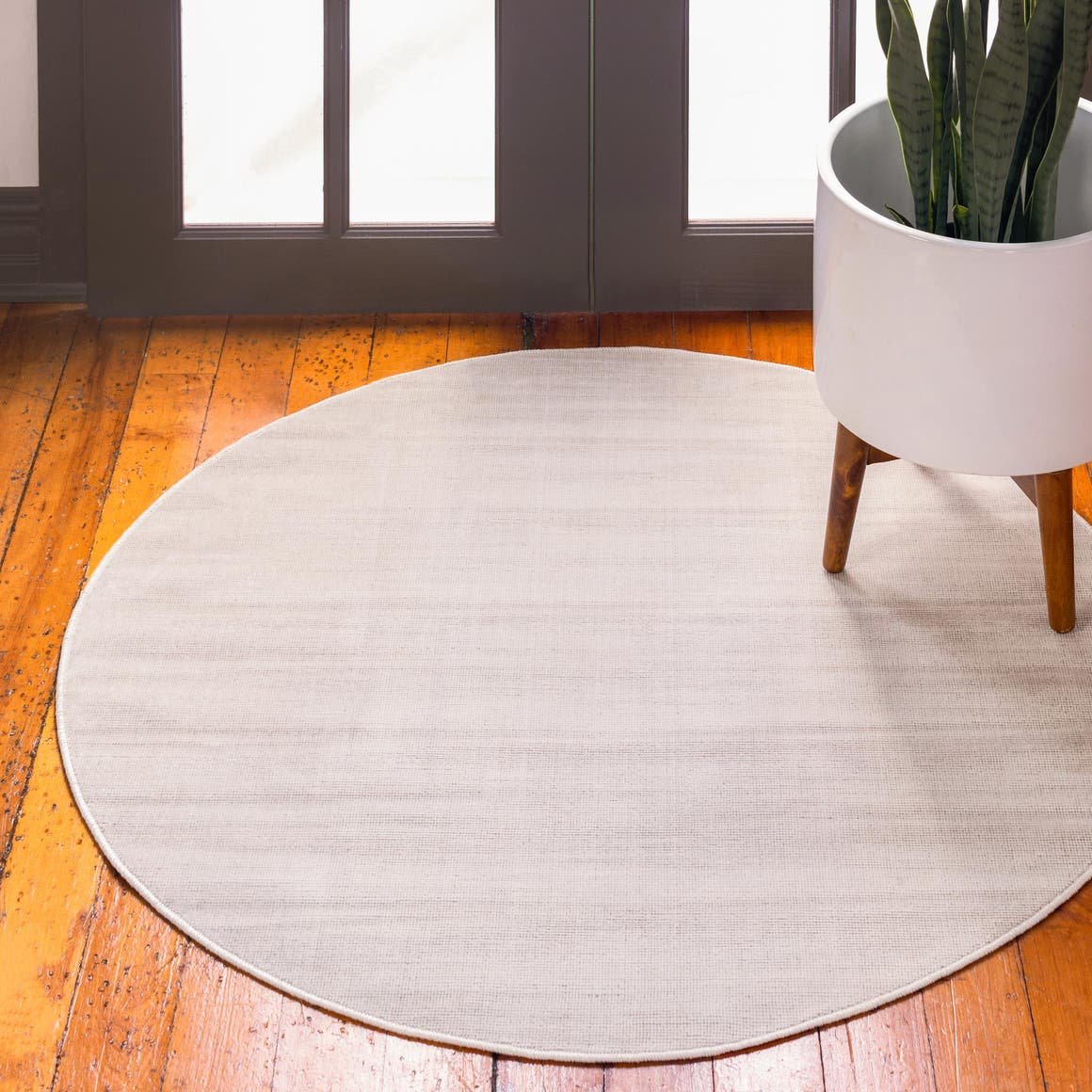 3' 7 x 3' 7 Tribeca Round Rug main image