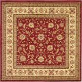 8' x 8' Classic Agra Square Rug thumbnail