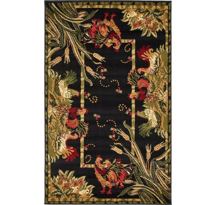 3' 3 x 5' 3 Country Rug