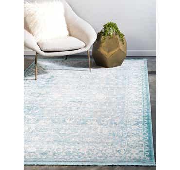 Image of  Light Blue Modern Classical Rug