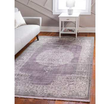 Image of  Purple Modern Classical Rug