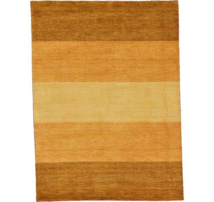 Image of 5' 4 x 7' 3 Indo Gabbeh Rug