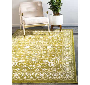 Image of  Light Green Modern Classical Rug