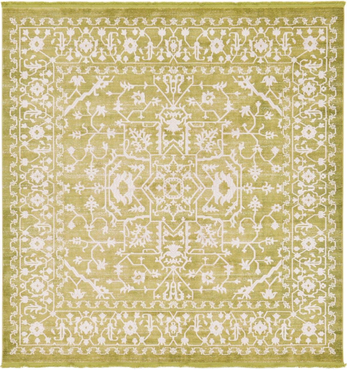 8' x 8' New Vintage Square Rug main image