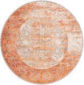 183cm x 183cm New Vintage Round Rug thumbnail